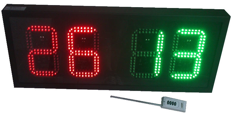 LED Player Changing Display